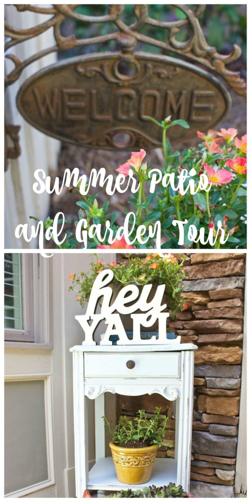 Summer Patio Garden Tour