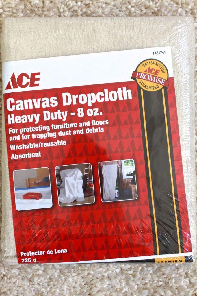 Canvas Dropcloth. DIY tote bag.