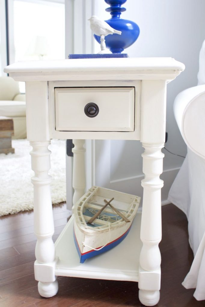 Chalk Paint Makeover For a Pair of Tables