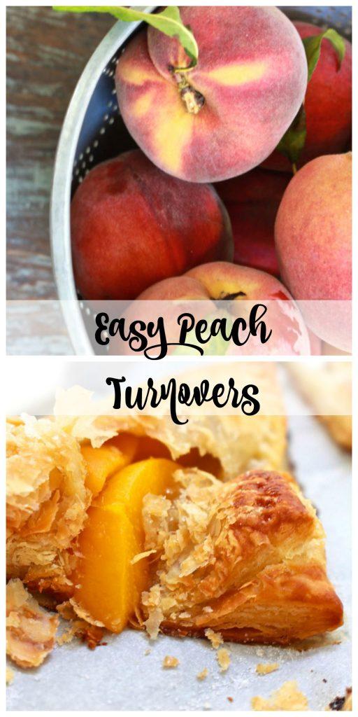 Easy Peach Turnovers