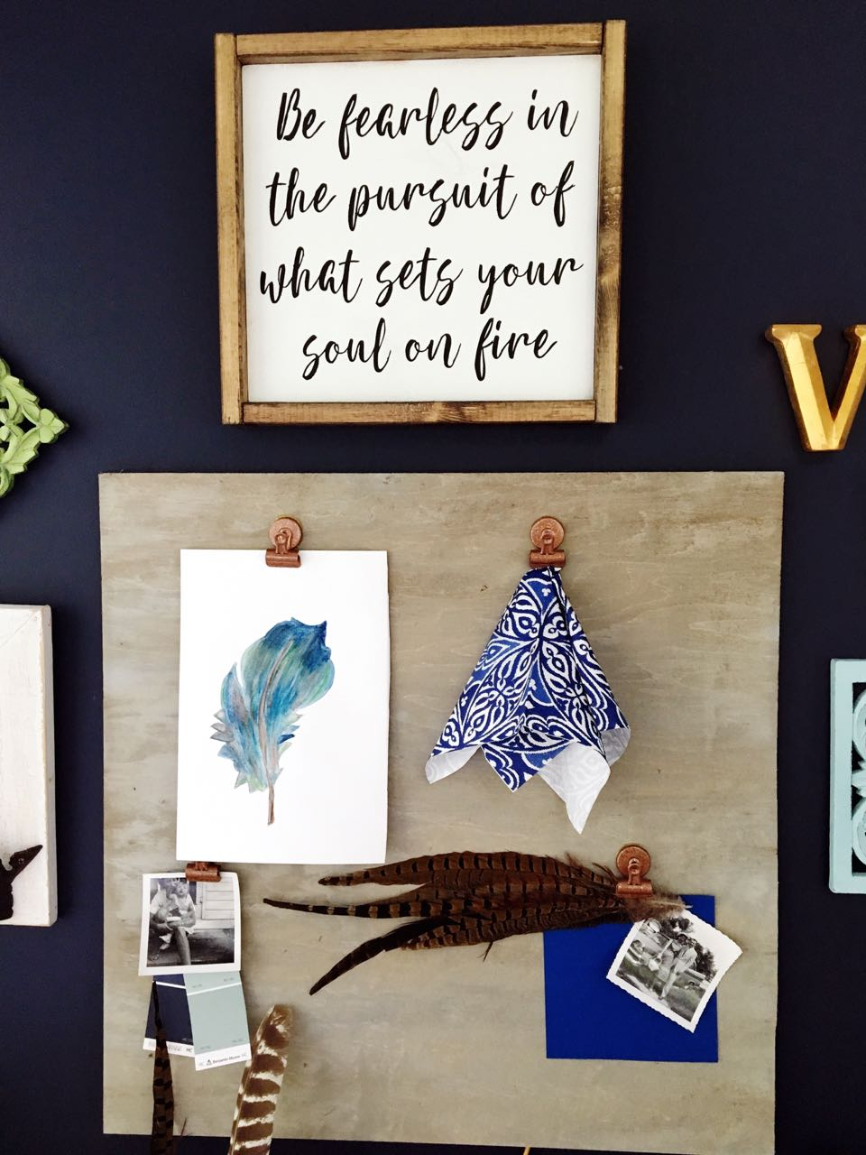 DIY Water Color Feather