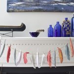 Paper Feather Garland