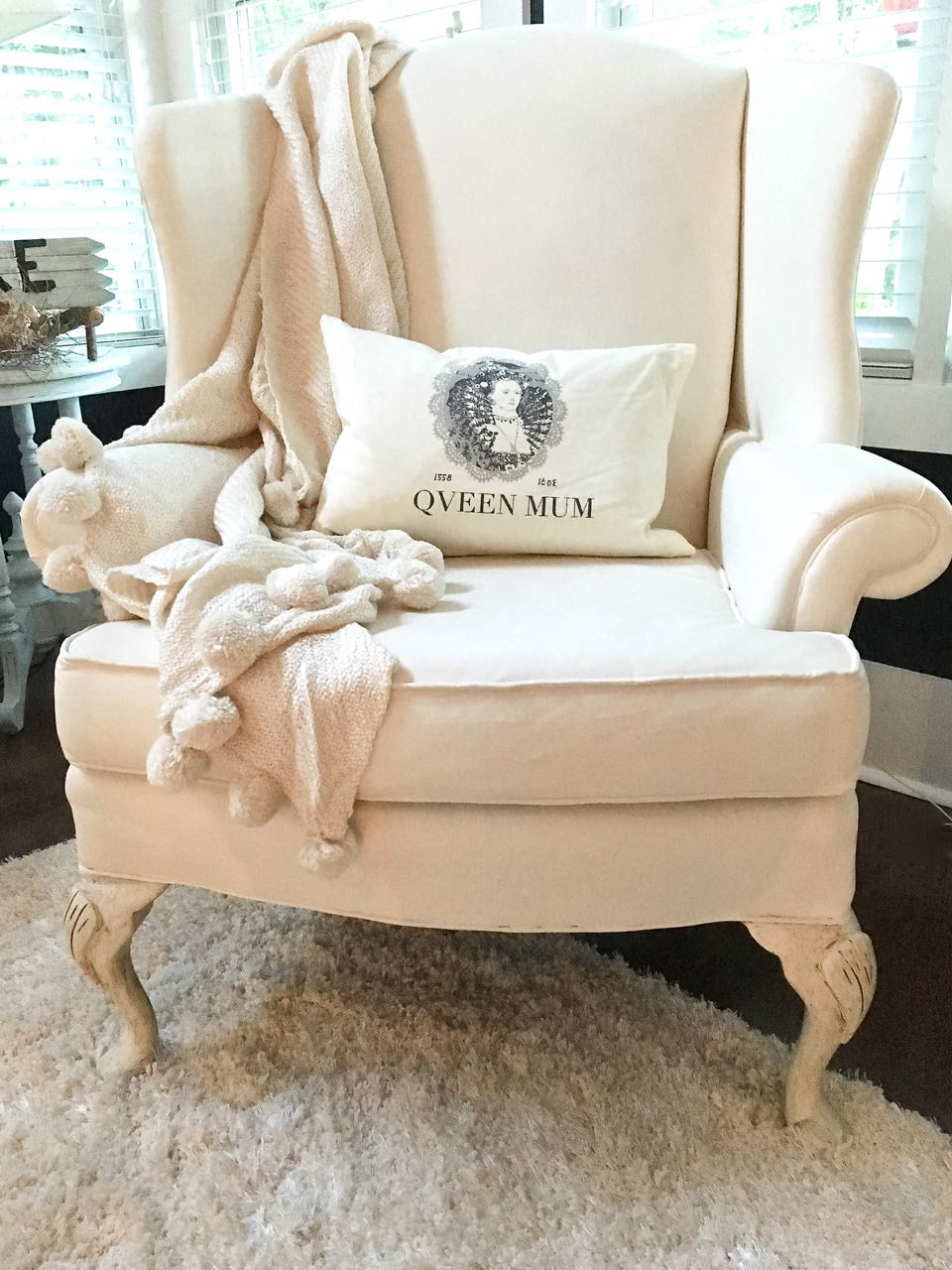 Painted Wing Chair. Find Decor Inspiration