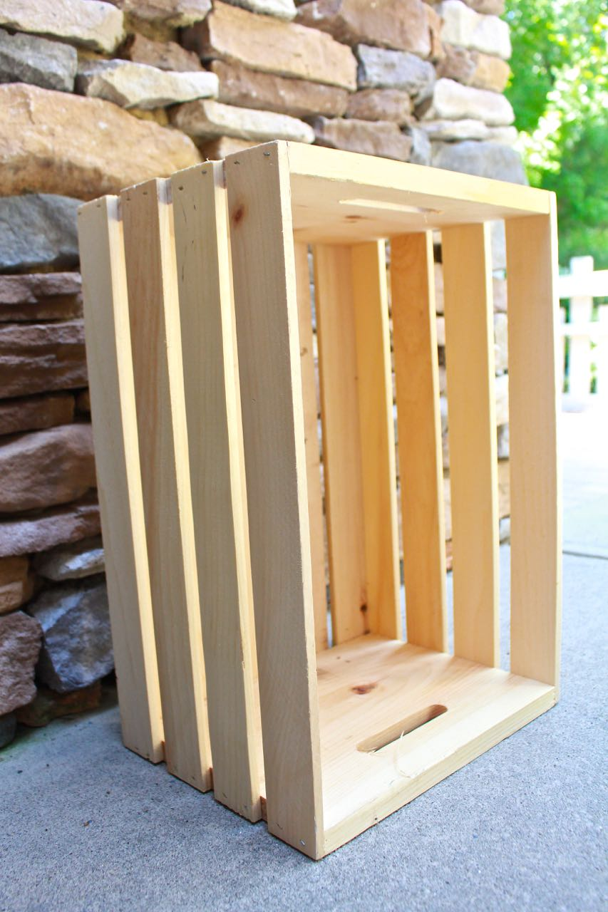 Wooden Crate Makeover