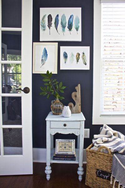 Decorating a Small Blank Wall
