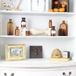 Fall Home Decor – Entryway Shelves