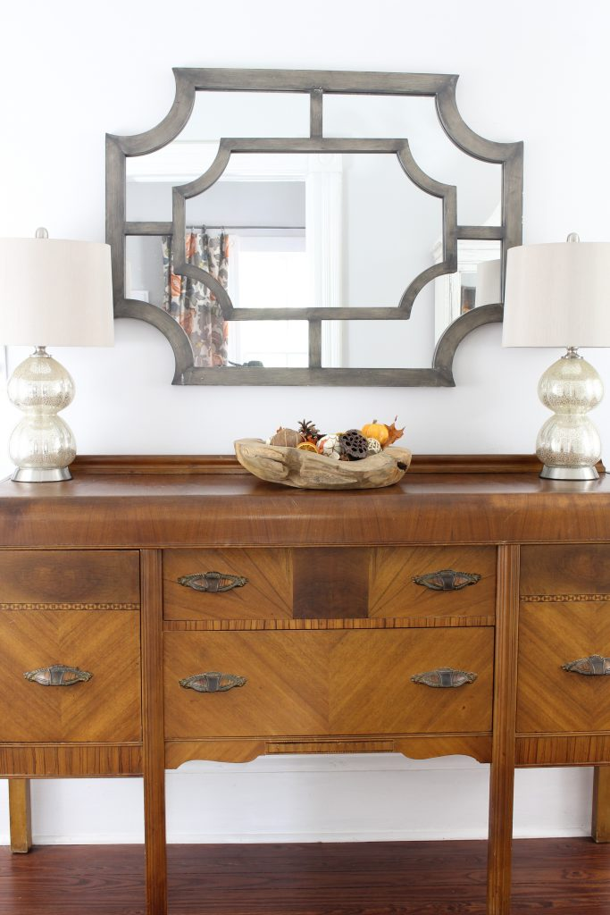 Decorating the entryway for Fall. Fall home tour.