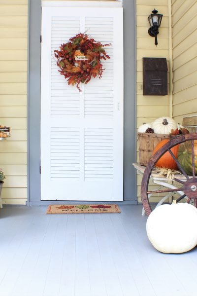 Fall Front Porch – Jenn's Home