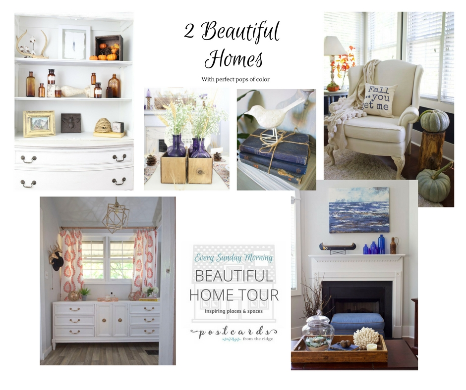 Home Tour Feature at Postcards from the Ridge