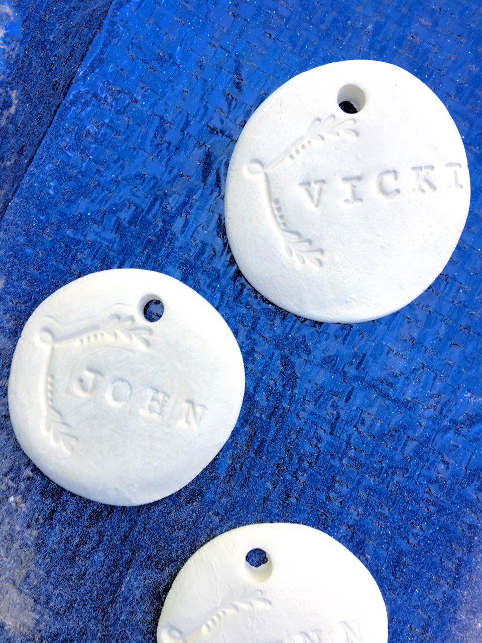 DIY Clay Tags