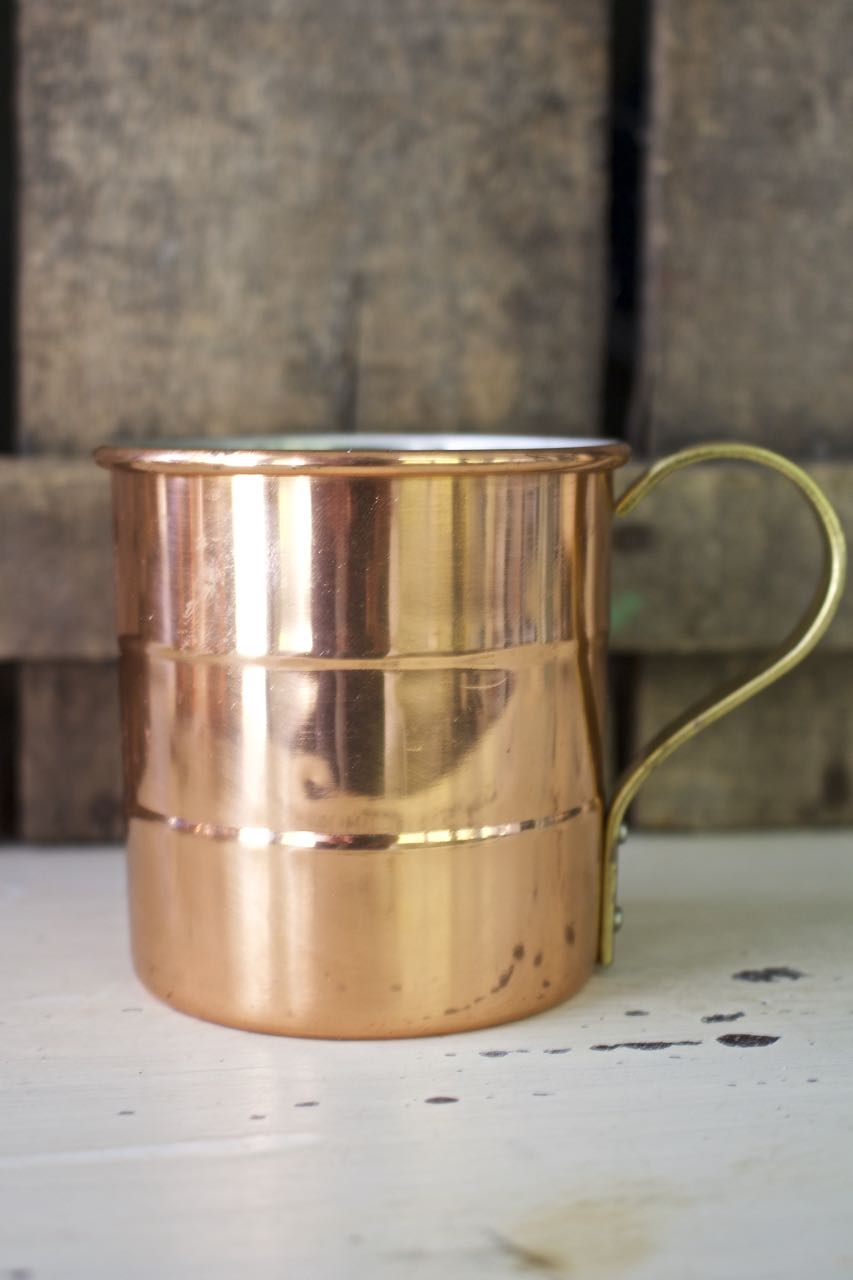 DIY Spice Candle in a Copper Mug