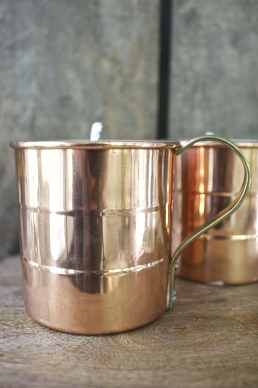 DIY Spice Candle in a Copper Mug