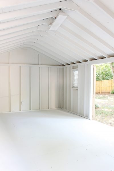 One Room Challenge She Shed – Week 2