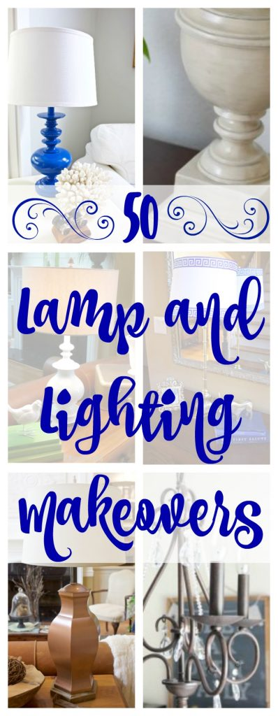 50 Creative DIY Lamp and Lighting Makeovers