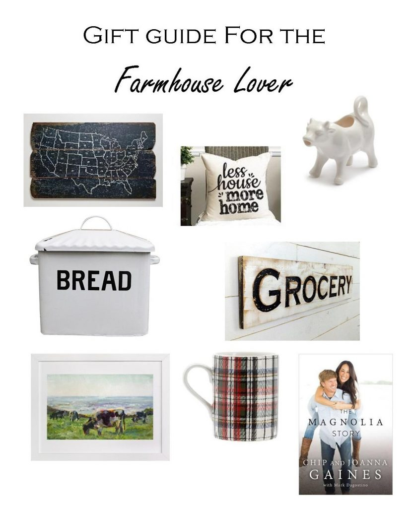 Christmas Gift Guide. Farmhouse Lover Gift.