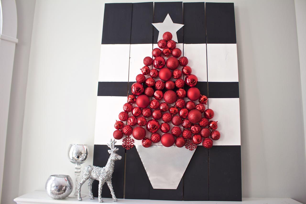 Holiday Ornament Display - Home Depot Virtual Party