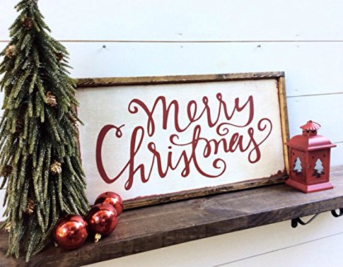 farmhouse christmas decor on amazon - Farmhouse Christmas