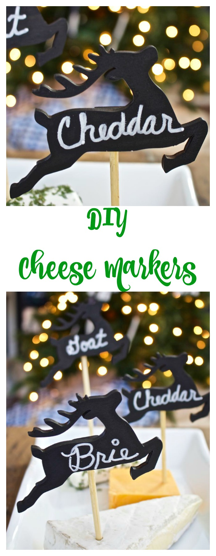 diy cheese marker tags