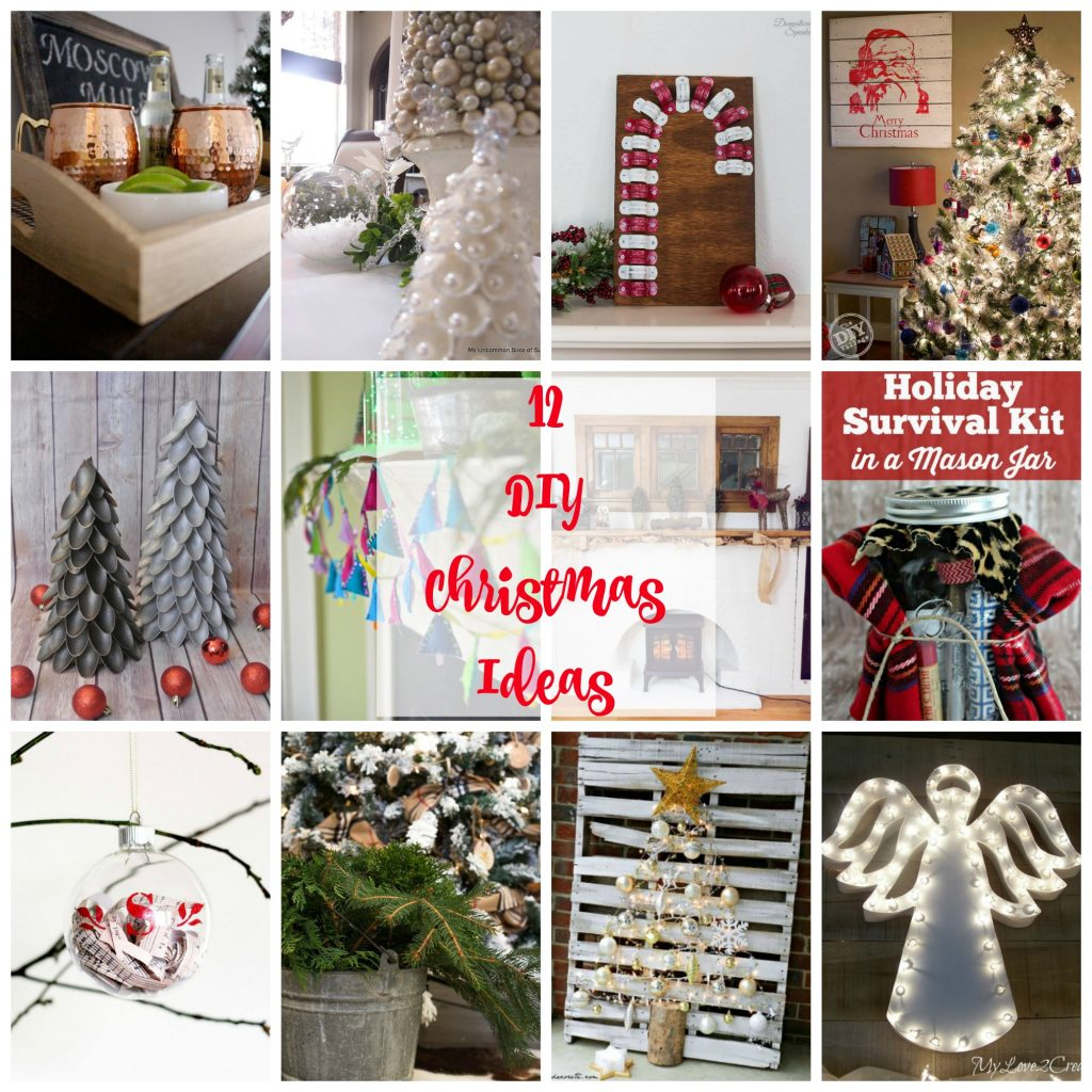 12 DIY Christmas Ideas.