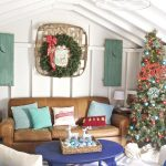 Christmas in the She Shed.