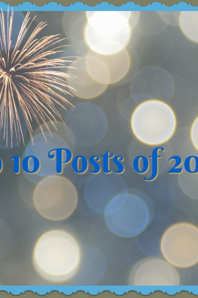 Top 10 Posts of 2016