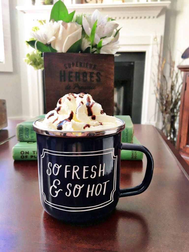 Hot Chocolate - perfect winter beverage