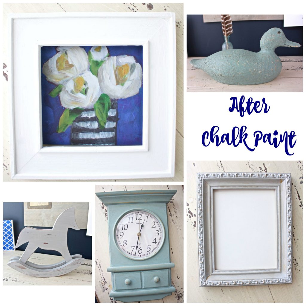 Chalk Paint Class - Before and After Projects