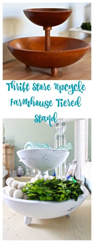 Farmhouse DIY Tiered Stand