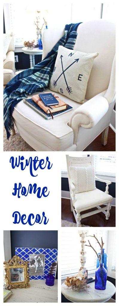 Winter Home Decor Collage 2