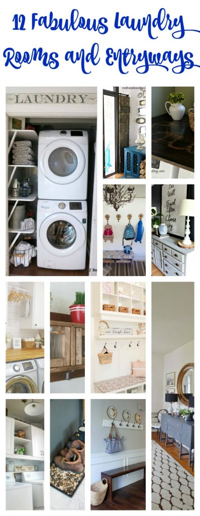 12 Fabulous Laundry Rooms and Entryways