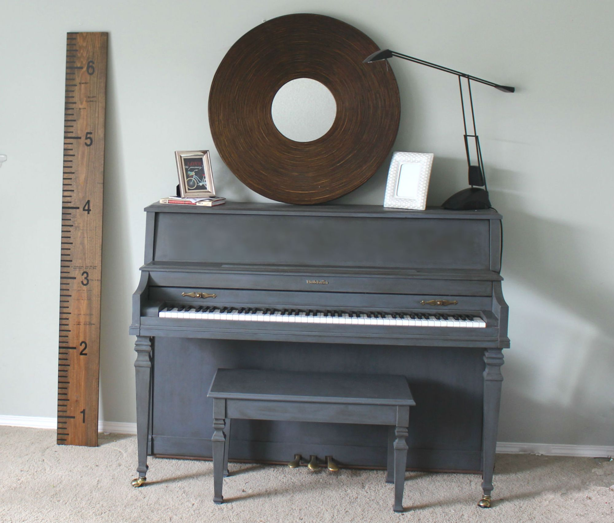 Brooklyn Berry Designs - painted piano