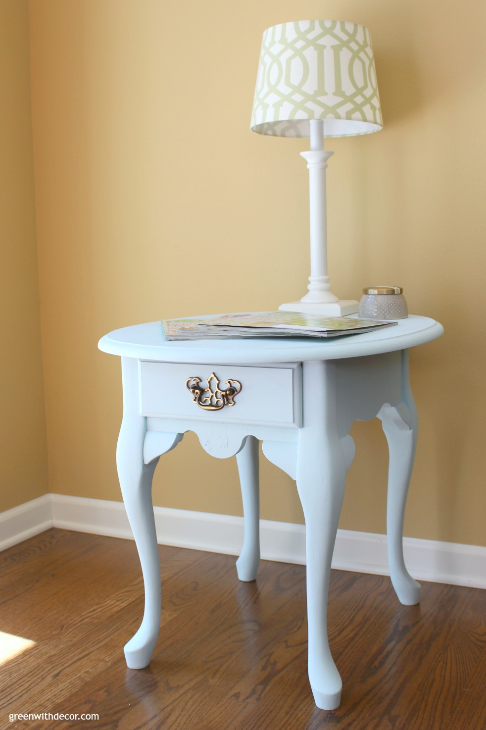 Green-With-Decor-Queen-Anne-table-makeover-after-1