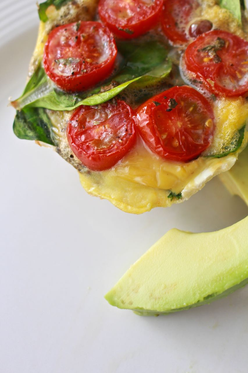 Spinach and Tomato Frittata – Quick and Easy Breakfast