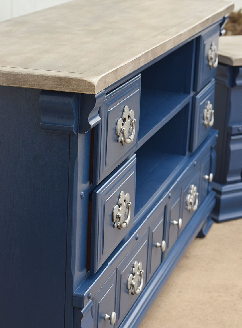 Timeless Creations Navy TVConsole15-compressor