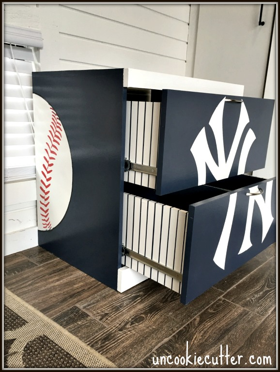 Uncookie Cutter - baseball nightstand