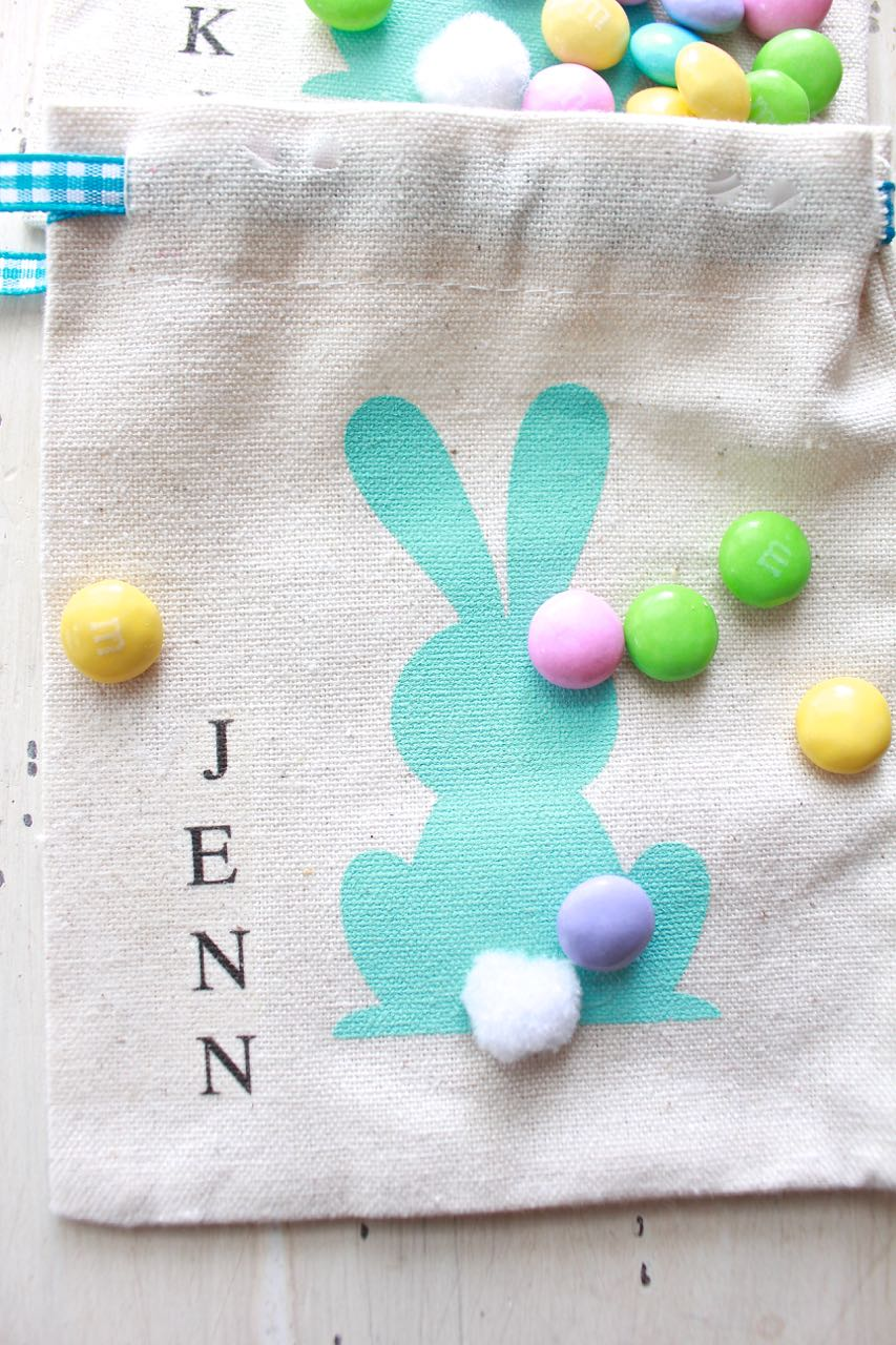 Easter Treat Bag - Easter Place Card.