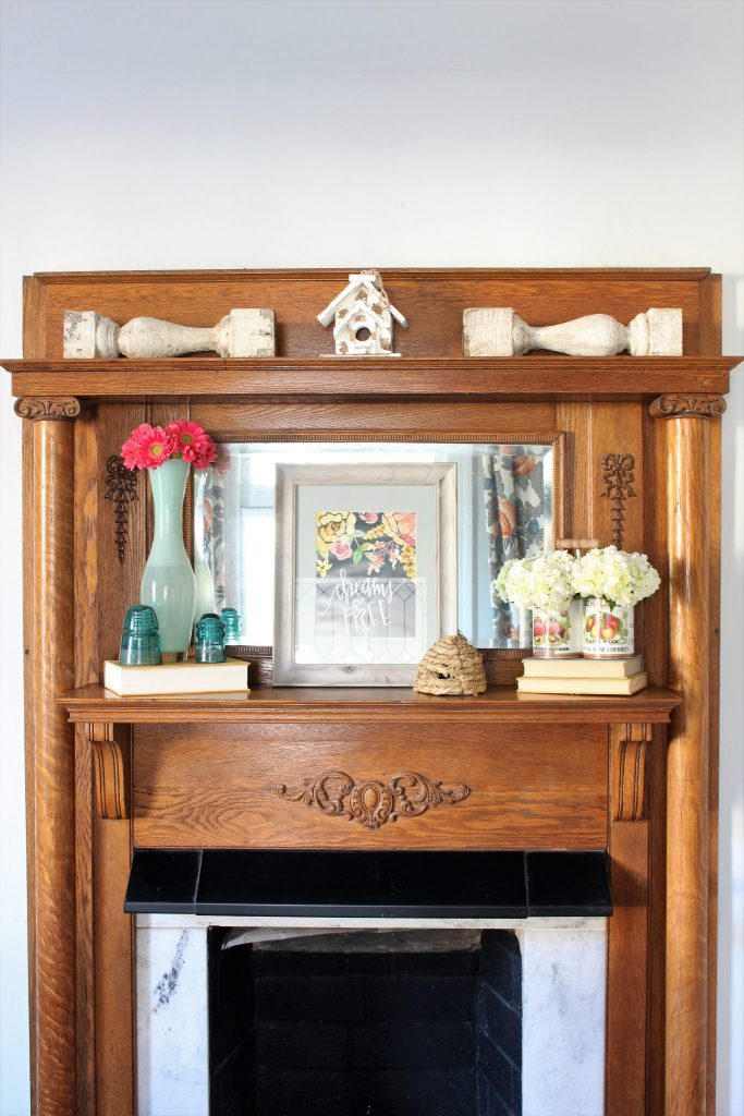 Decorating your mantel for spring
