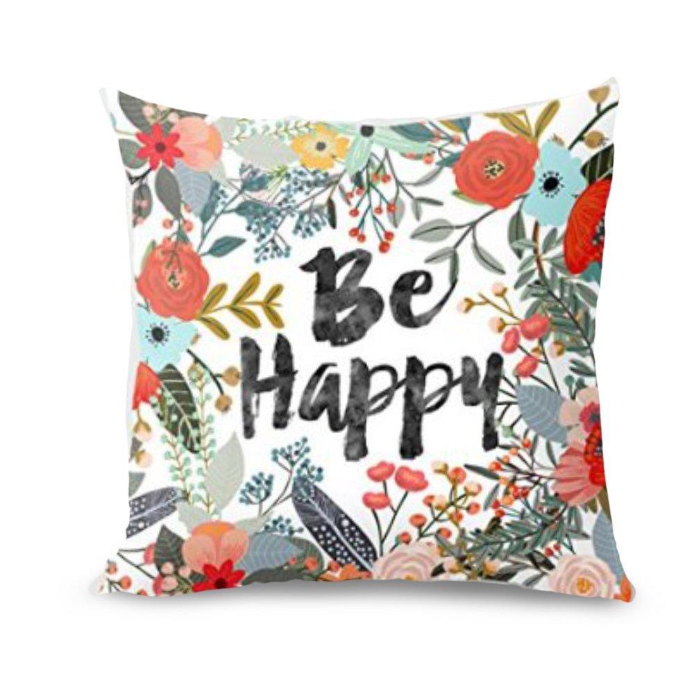 Be Happy Pillowcase