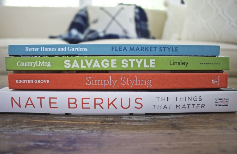 Blog - Favorite Decor and Design Books for Inpsiration. Decor Coffee Table Books.