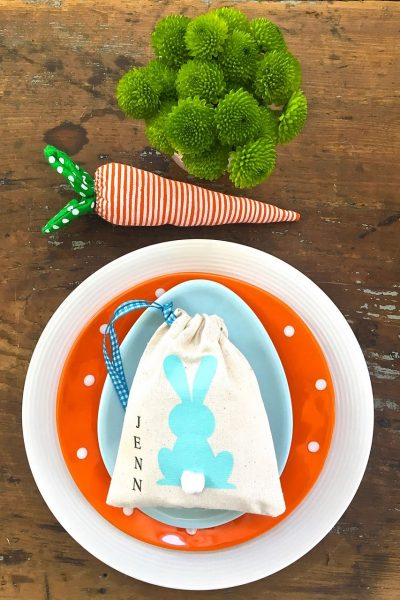 Easter Table Settings – Casual Place Setting