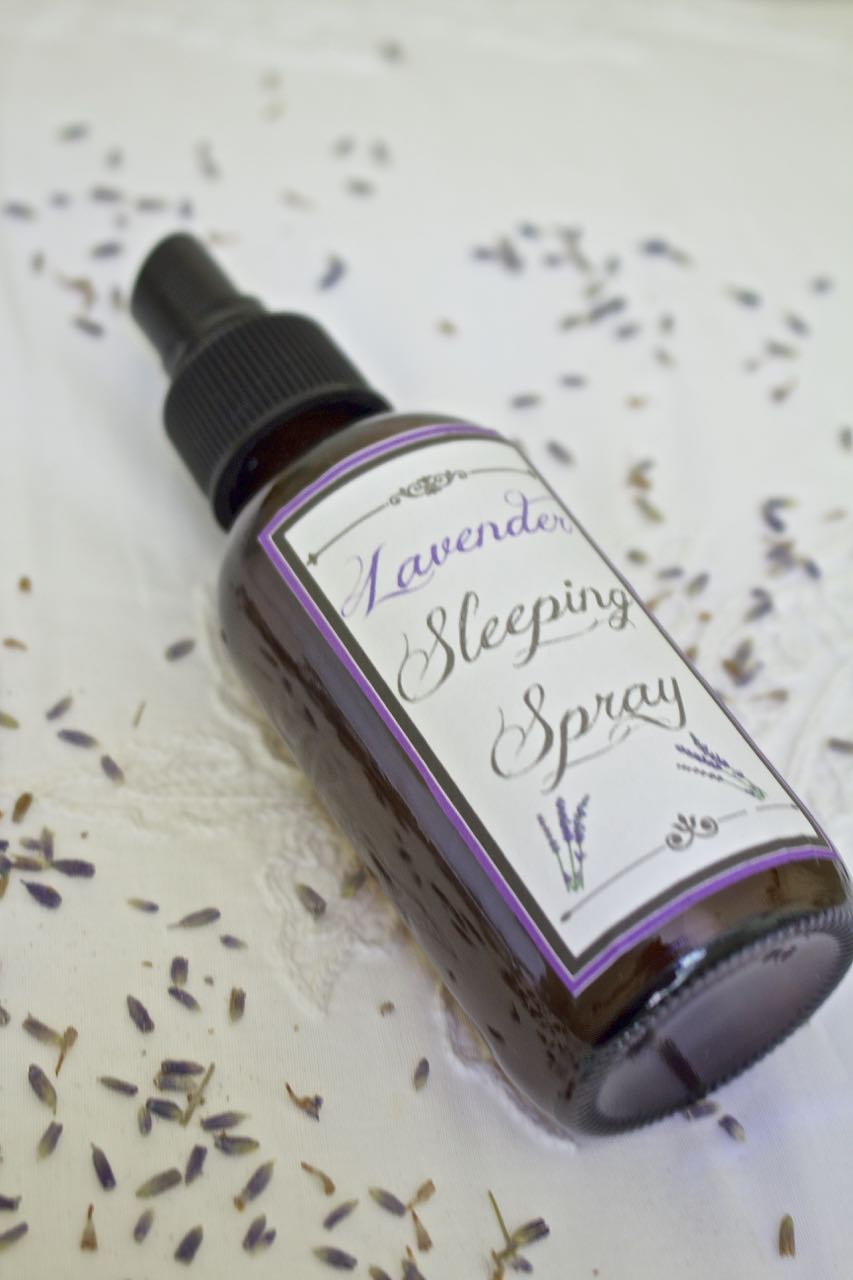 How To Make Soothing Lavender Sleep Spray 2 Bees In A Pod