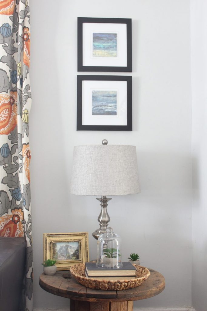 End Table Spring Refresh