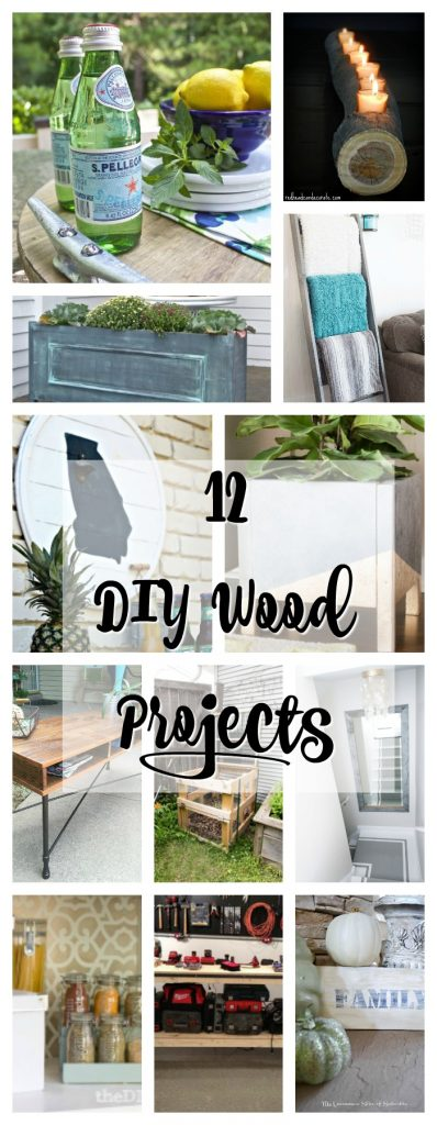 12 DIY Wood Projects