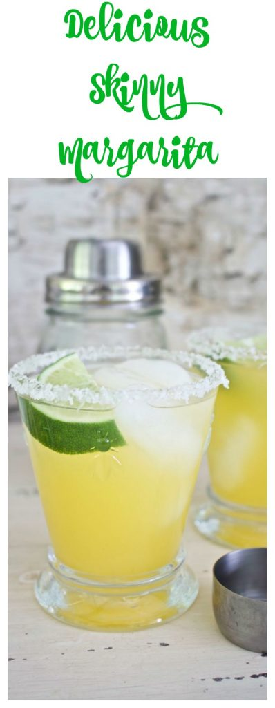 Delicious Skinny Margarita