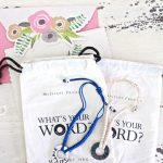 Gift of Gratitude – Word of the Year Bracelets