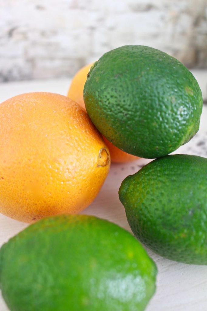 Skinny Margarita Recipe. Fresh limes and oranges are great for skinny margarita.