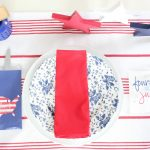 4th of July Place Settings – Mother/Daughter Bloggers
