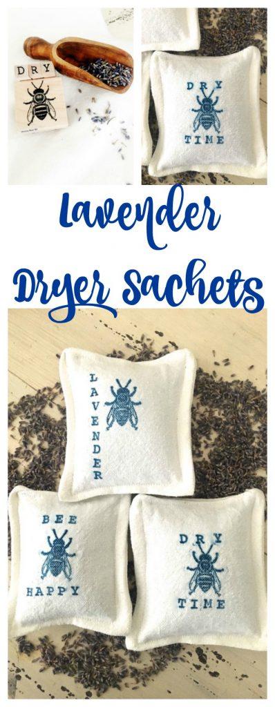 Lavender Dryer Sachets - Smells so Good