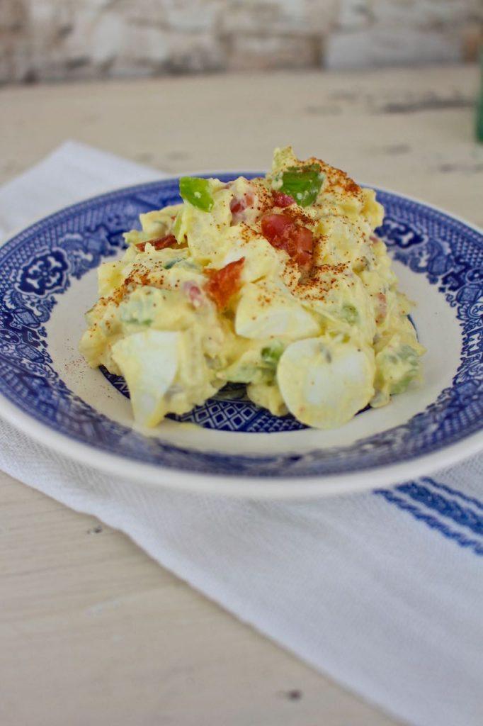 Mom's Southern Potato Salad. Delicious Salad.