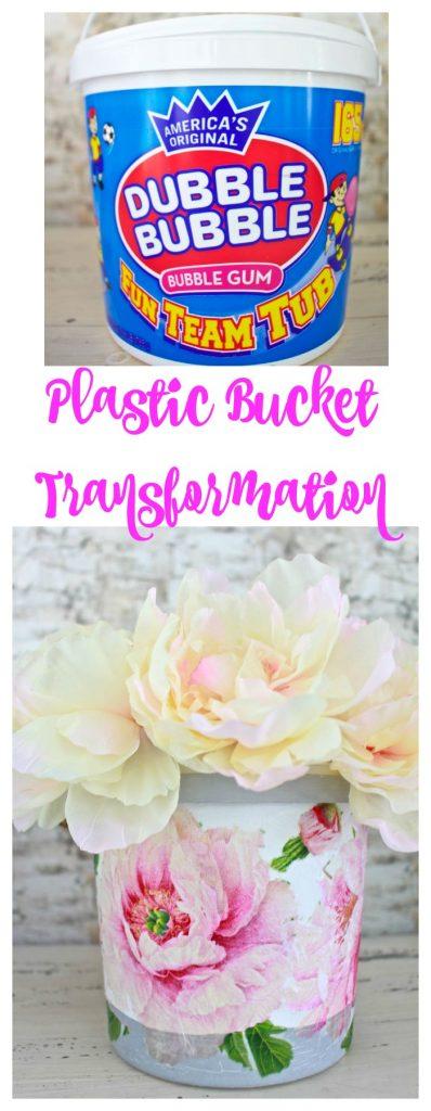 Plastic Bucket Transformation